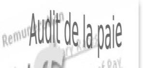 Audit de la paie : généralité , comptabilité et audit  de paie