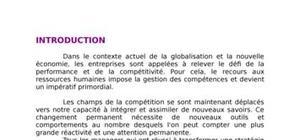 La mondialisation  et la grh