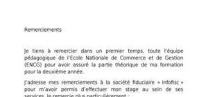 Rapport de stage (fiduciaire)