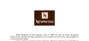 Etude marketing nestli nespresso