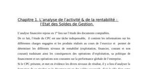 Gstion  finananciere cours