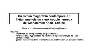 Il était une fois un vieux couple heureux de mohammed khaïr- eddine