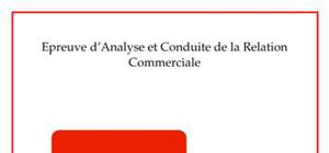 Dossier de l'épreuve  acrc chez  l'agence d'intérim adecco (très bien noté, évalué à 17/20)