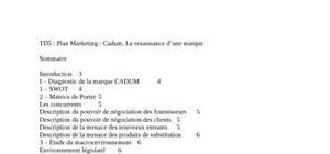Marque cadum (entreprise), comment regagner sa place de leader?
