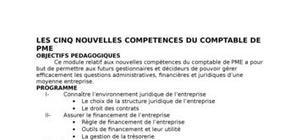 Les cinq nouvelles compétences du comptable ivoirien