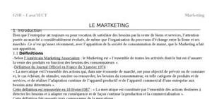 Le martketing: introduction