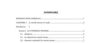 La fonction d'audit interne dans les entreprises algériennes