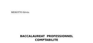 Rapport de stage comptabilité