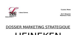 Dossier de marketing stratégique heineken
