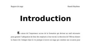 Rapport tunisie télécom