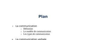 La communication : verbale et non verbale