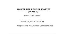 Methode d'evaluation des banques