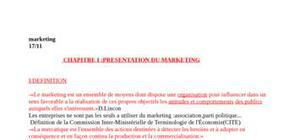 Fondement marketing1