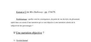 Commentaire mrs dalloway