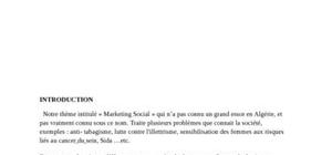 Le marketing social 1