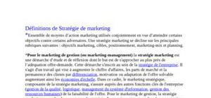 Stratégie de marketing télecom