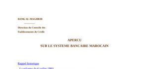 Systeme bancaire marocain