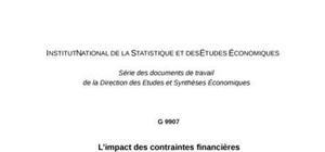L'impact des contraintes financières dans la décision d'investissement