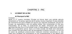 Politique agricole commune