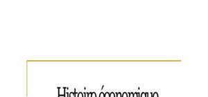 Histoire economique la revolution industrielle