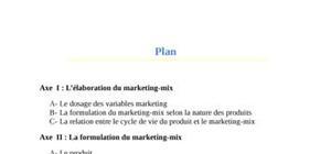 Strategie du marketing mix