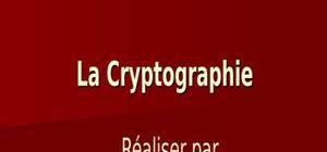 La cryptographie(stéganographie )