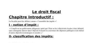 Le  droit  fiscal marocain