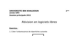 Correction de l'epreuve de revision d'informatique