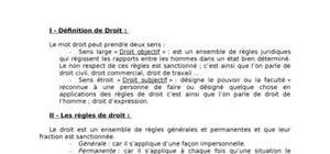 Le droit introductif