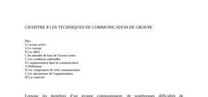 Communication  de groupe