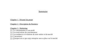 Business plan (projet fictif) - life in green