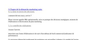 Marketing l'analyse de la méthode porter