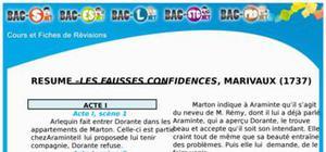 Résumé Les Fausses Confidences