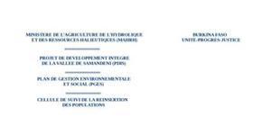 Evaluation suivi des conseils de développement local: cas du département de samandéni