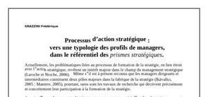 Processus d'action stratégique