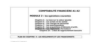 Les rÈglements et les financements