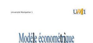 étude économétrique revenu disponible brut des ménages en europe