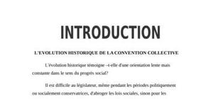 Distinction entre les convention collecive ordinaire et étendue