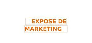 Exposé marketing courir