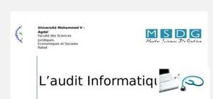 L ' audit informatique