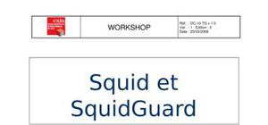 Configuration devsquid et squidgard