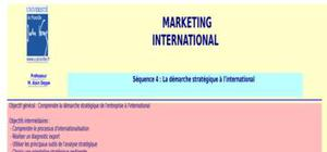 Cours marketing international
