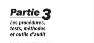 Les procédures, tests et outils d'audit