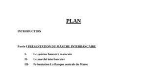 I presentation du marche interbancaire