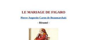 Résumé du mariage de figoro