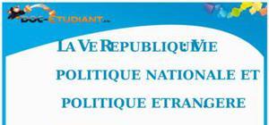 La Vème République : Cours Terminale S - L