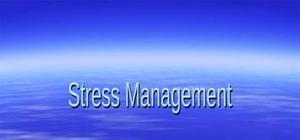 The stress management