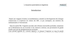 Implantation des entreprises étrangères en am.latine