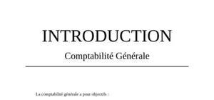 Cours de comptabilité générale