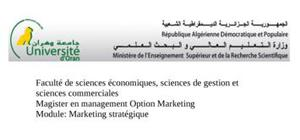 Marketing stratégique